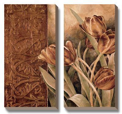 Copper Tulips I