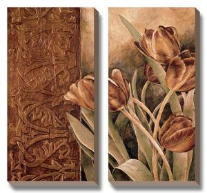 Copper Tulips I by Linda Thompson
