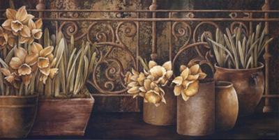 Ironwork with Daffodils