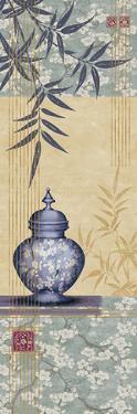 Bamboo and Blossom II by Linda Wood