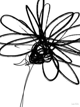 Black Ink Flower III
