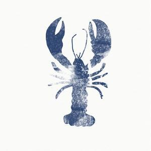 Blue Lobster by Linda Woods