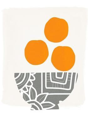 Bowl of Oranges by Linda Woods