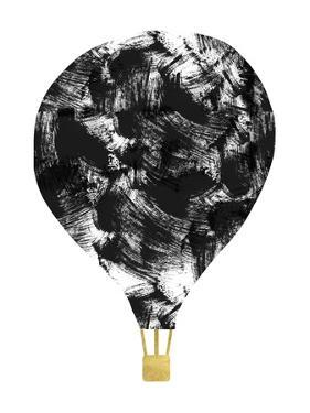Brushstroke Balloon by Linda Woods