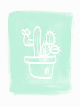 Cactus I by Linda Woods