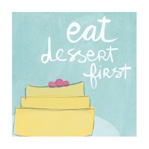 Dessert I by Linda Woods