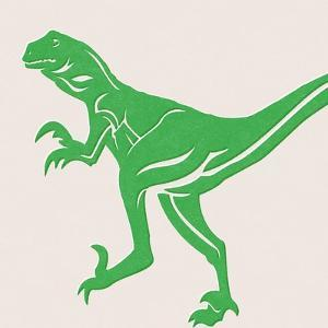 Dino 1 by Linda Woods