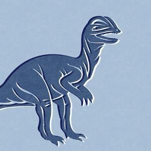 Dino 2 by Linda Woods