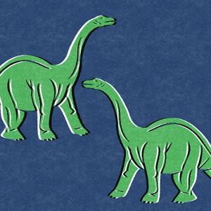 Dino 3 by Linda Woods