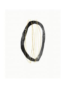 Elegant Modern Abstract IV by Linda Woods
