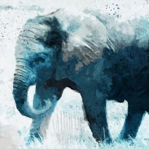 Elephant by Linda Woods
