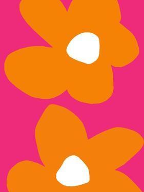 Flower Power V by Linda Woods