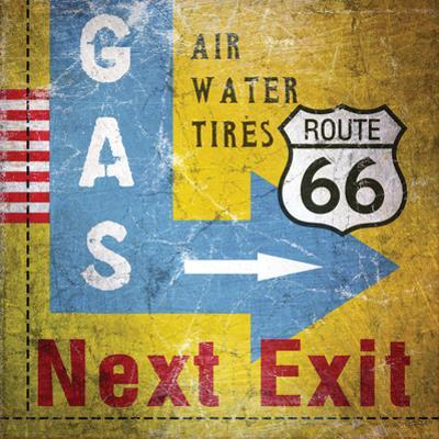 Gas Next Exit by Linda Woods