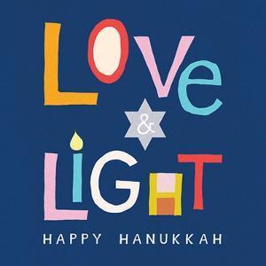 Love and Light Hanukkah by Linda Woods