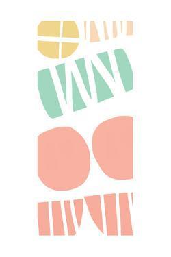 Multi Shapes III by Linda Woods