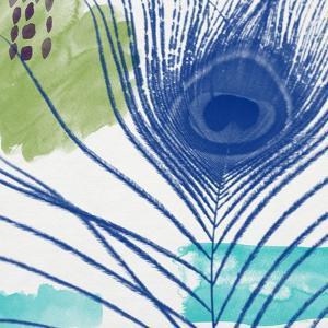 Peacock 3 by Linda Woods