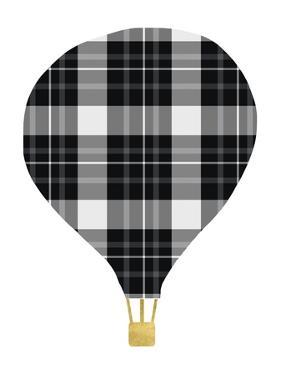 Plaid Balloon by Linda Woods