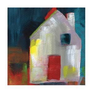 Red Door by Linda Woods