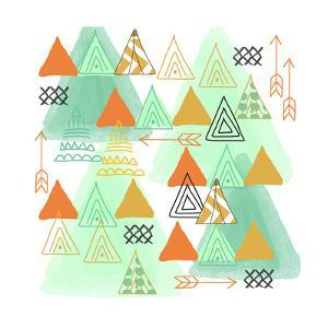 Triangles by Linda Woods