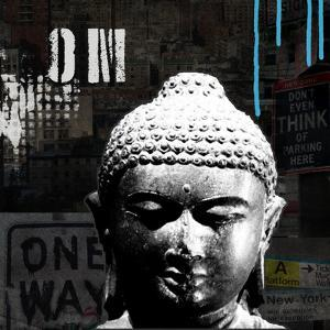 Urban Buddha I by Linda Woods