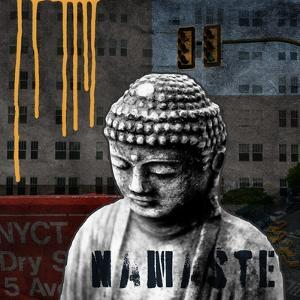 Urban Buddha III by Linda Woods