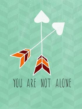 You are Not Alone by Linda Woods