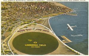 Lindbergh Field Airport, San Diego, California