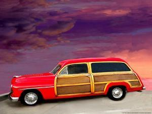 Red Woody by Linden Sally