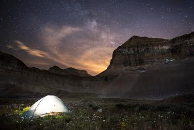 Backcountry Camp under the Stars