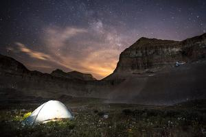 Backcountry Camp under the Stars by Lindsay Daniels