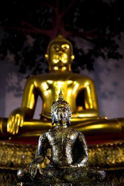 Buddha Statues At The Grand Palace In Bangkok, Thailand by Lindsay Daniels