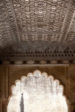 Details Of Amer Fort In Jaipur, India by Lindsay Daniels