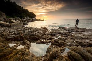 Fisherman In Phuket, Thailand by Lindsay Daniels