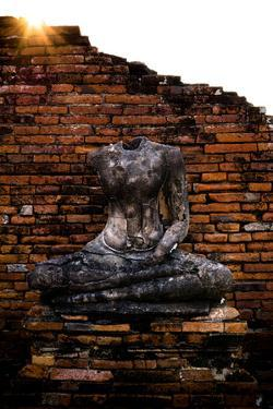 Headless Buddha In Ayutthaya, Thailand by Lindsay Daniels