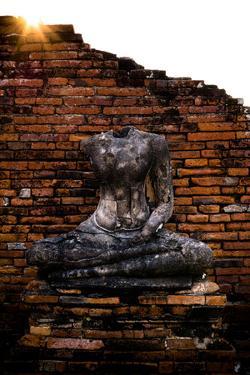 Headless Buddha In Ayutthaya, Thailand by Lindsay Daniels