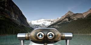 Lookout at Lake Louise, Canada by Lindsay Daniels