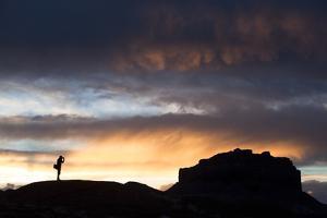 Photographer in Goblin Valley, Utah by Lindsay Daniels