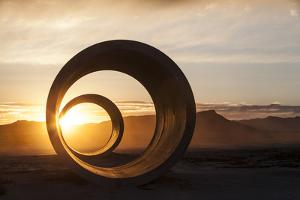 Sun Tunnels at Summer Solstice by Lindsay Daniels