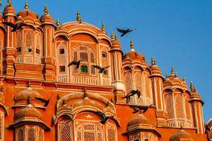 The Pink Palace In Jaipur, India by Lindsay Daniels