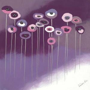 Purple Flowers II by Lindsay Hill