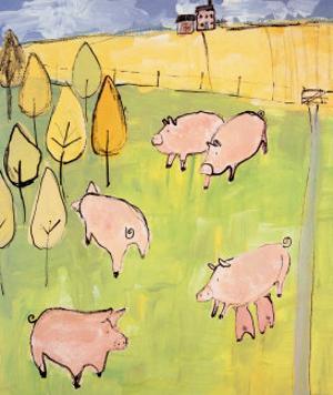 Pigs by Lindsay Kelsall
