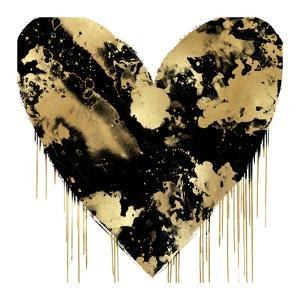 Big Hearted Black and Gold by Lindsay Rodgers