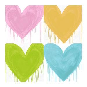 Big Hearted Quartet I by Lindsay Rodgers