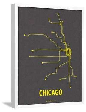Chicago by Line Posters