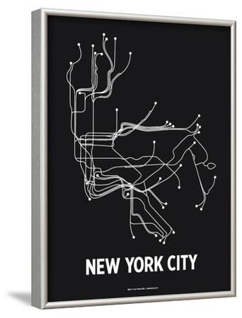 New York City by Line Posters