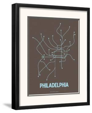 Philadelphia by Line Posters