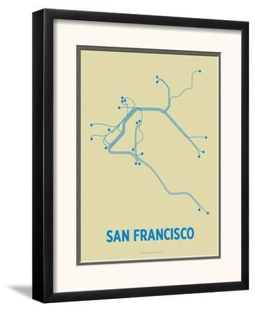 San Francisco by Line Posters