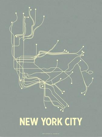 New York City (Steel Blue & Yellow)