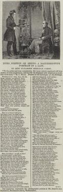 Lines Written on Seeing a Daguerreotype Portrait of a Lady, by Miss Elizabeth Sheridan Carey