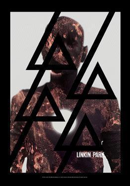 Linkin Park - Burn It Fabric Poster
